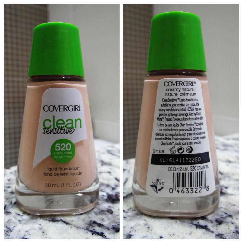 Testando: Base Clean Sensitive – Covergirl