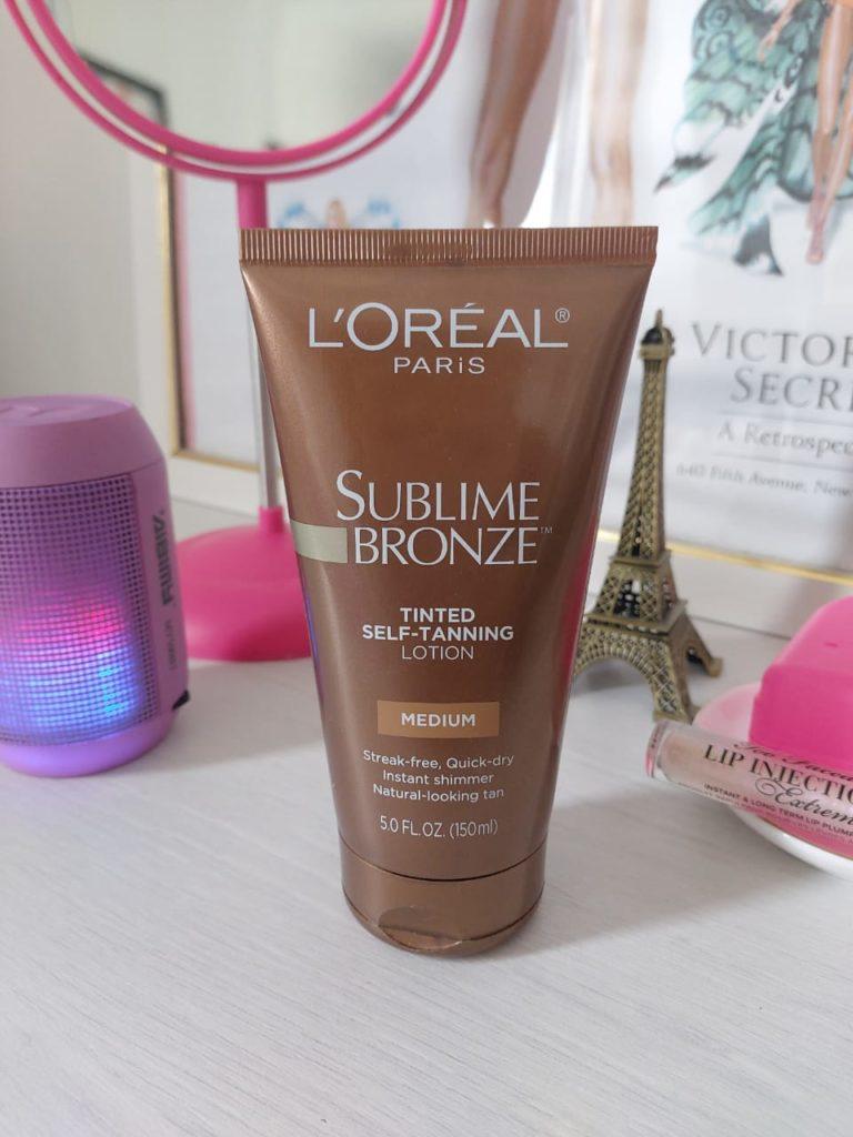 Testanho: Sublime Bronze – L'Oreal