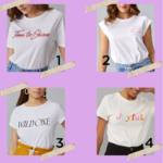 Achadinhos de T-shirt na AMARO