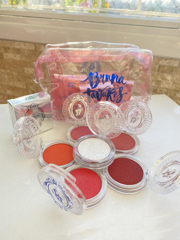 Testando: BT Mirror + BT Shimmer Blush